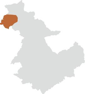 飯地町エリアの位置