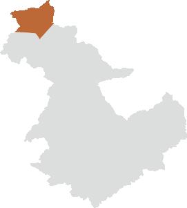 中野方町エリアの位置
