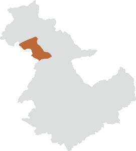武並町エリアの位置