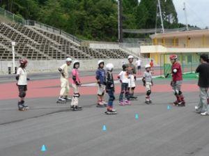 初心者インラインスケート無料教室