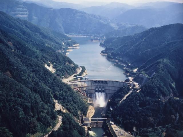 奥矢作湖・矢作ダム