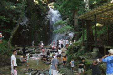 寿老の滝 夏のイベント