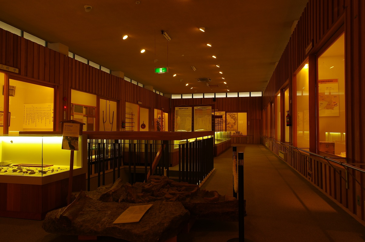 岩村歴史資料館内部の様子