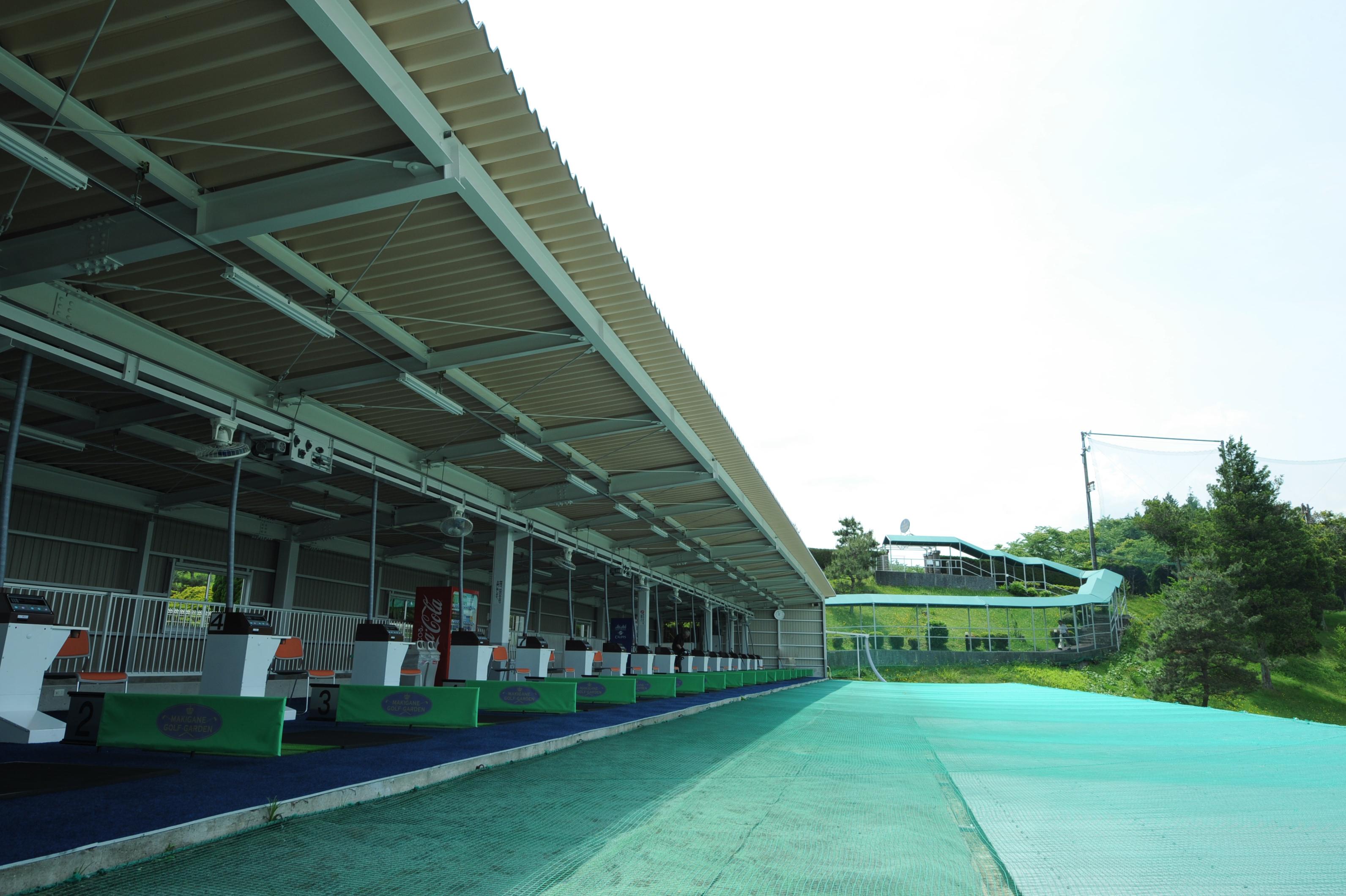 練習場の風景
