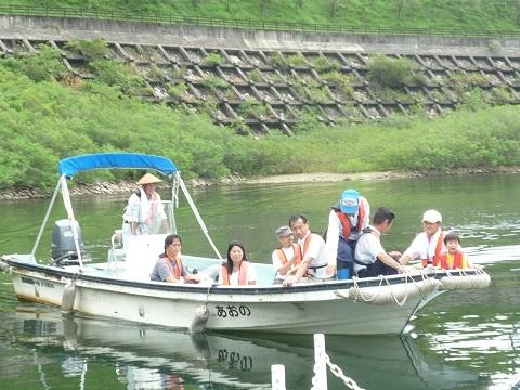 阿木川サマーフェスティバル(巡視体験)