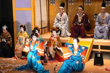 子供地歌舞伎公演