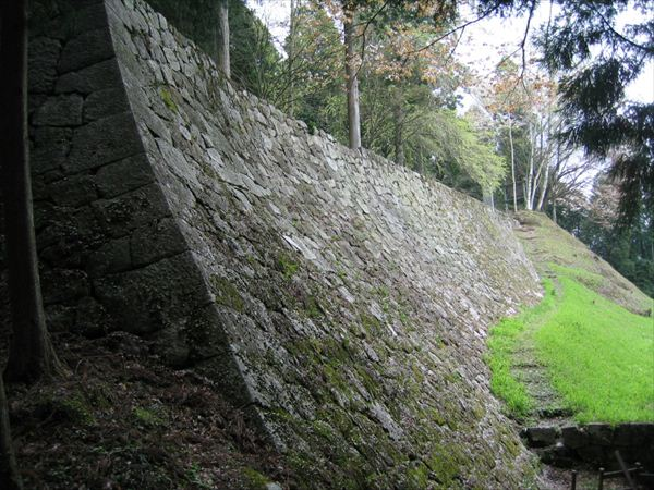 日本三大山城のひとつ岩村城