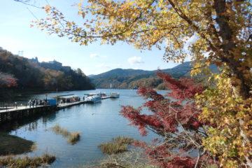 秋の紅葉シーズン恵那峡周辺の駐車場利用について