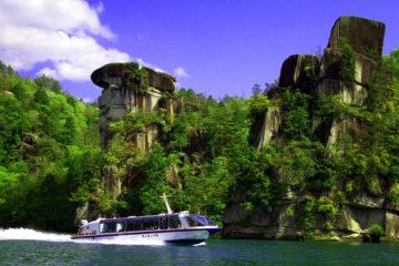 恵那峡遊覧船 「夏限定 特別乗船券」を7月18日から8月30日まで恵那市観光案内所にて発売